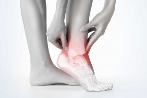 Ankle injury x ray