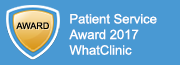 Patient Service Award 2017 WhatClinic