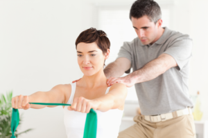 Shoulder rehab Physiotherapy Poole Lilliput Health