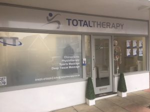 Total Therapy Chiropractic Physiotherapy clinic in Ringwood