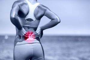Runner with back pain Lilliput Health Poole