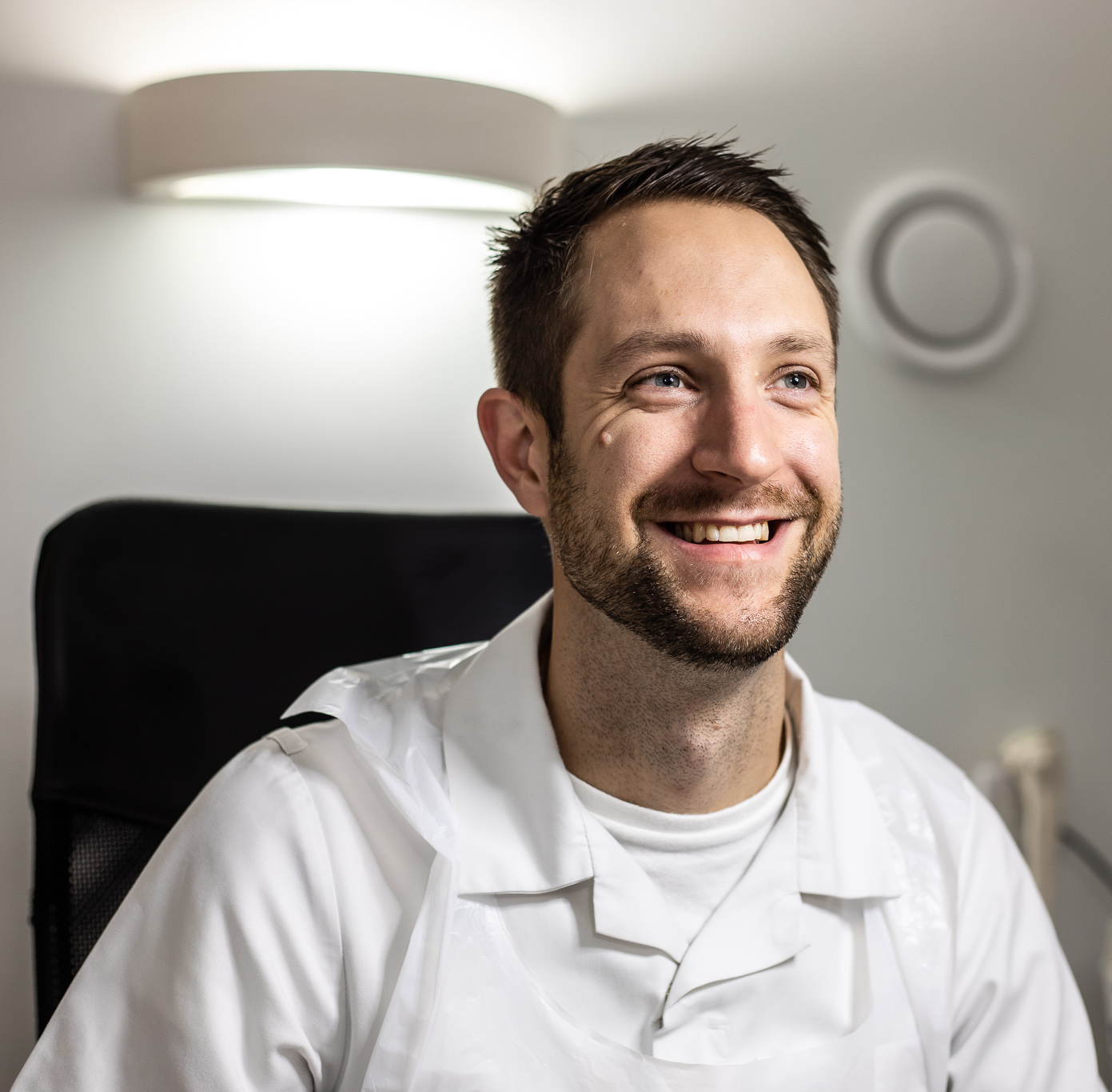 Jamie Luckie podiatrist chiropodist Lilliput Health Poole